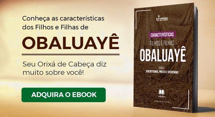 Ponto de Obaluayê interpretado por Juliana D Passos