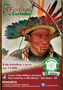 Festival de Curimba Aldeia de Caboclos será em outubro