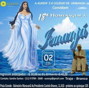 AUEESP promove a 18ª Homenagem a Iemanjá na Praia Grande (SP) 1