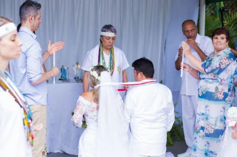 Casamento umbandista pelas lentes de um fotógrafo evangélico