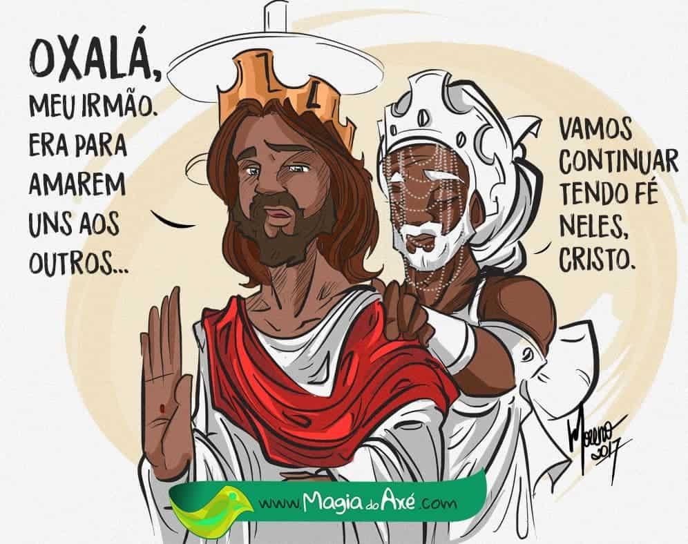 Jesus e Oxalá: entenda as semelhanças e diferenças