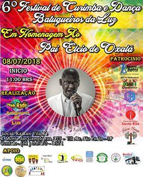 Batuqueiros da Luz - 6º Festival de Curimba e Dança 2