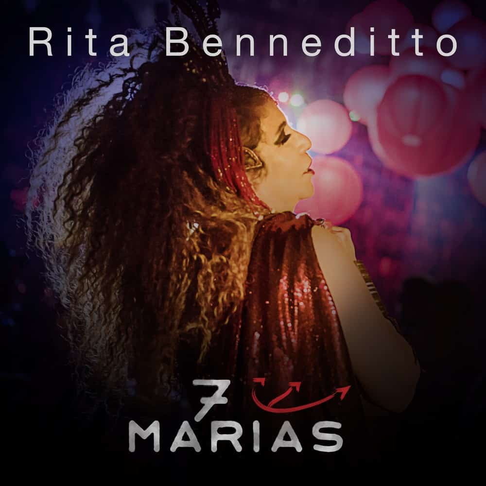 Rita Benneditto festeja data com single de '7 Marias' 2