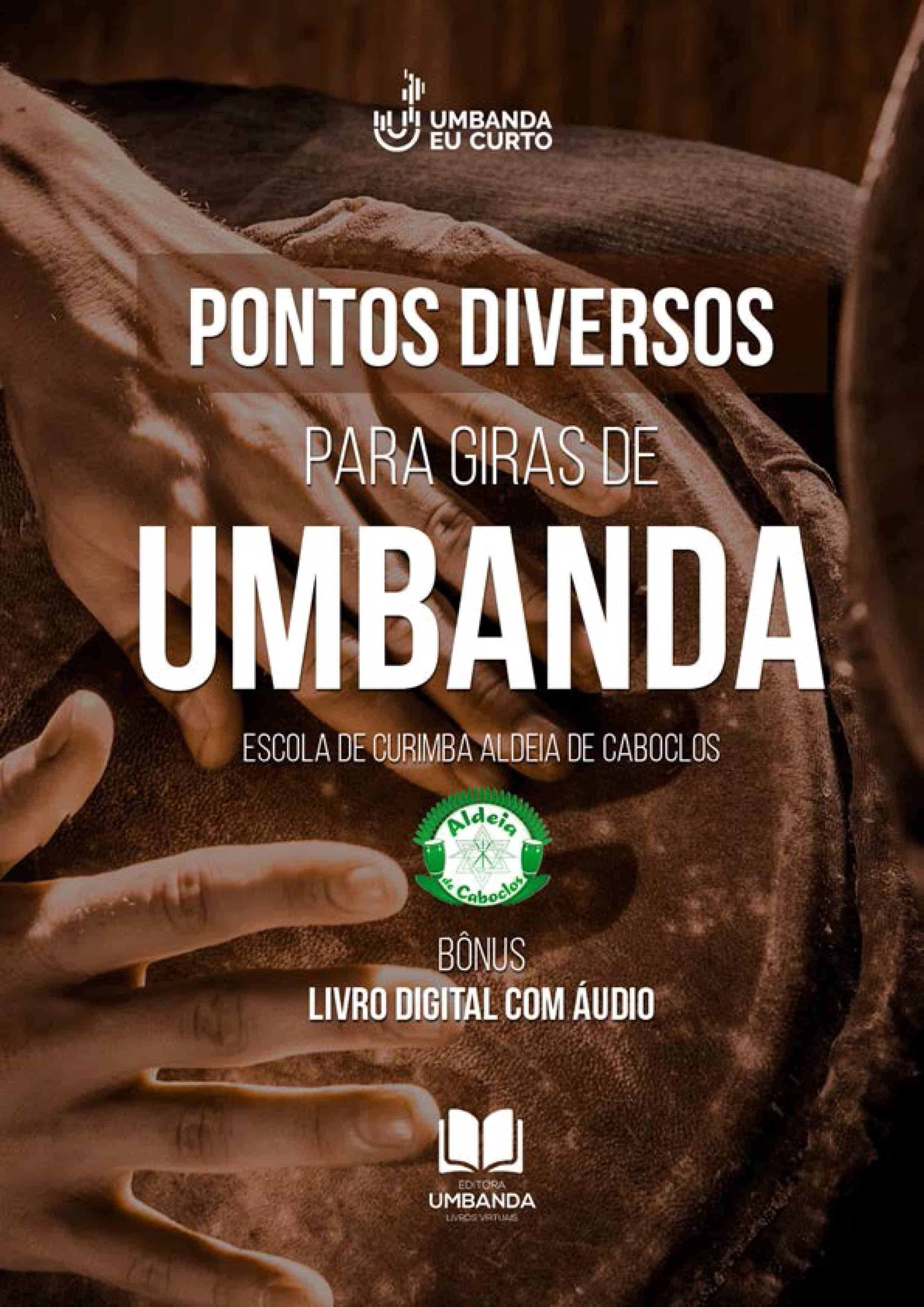 E-books Umbanda Eu Curto: conhecimento e ação social