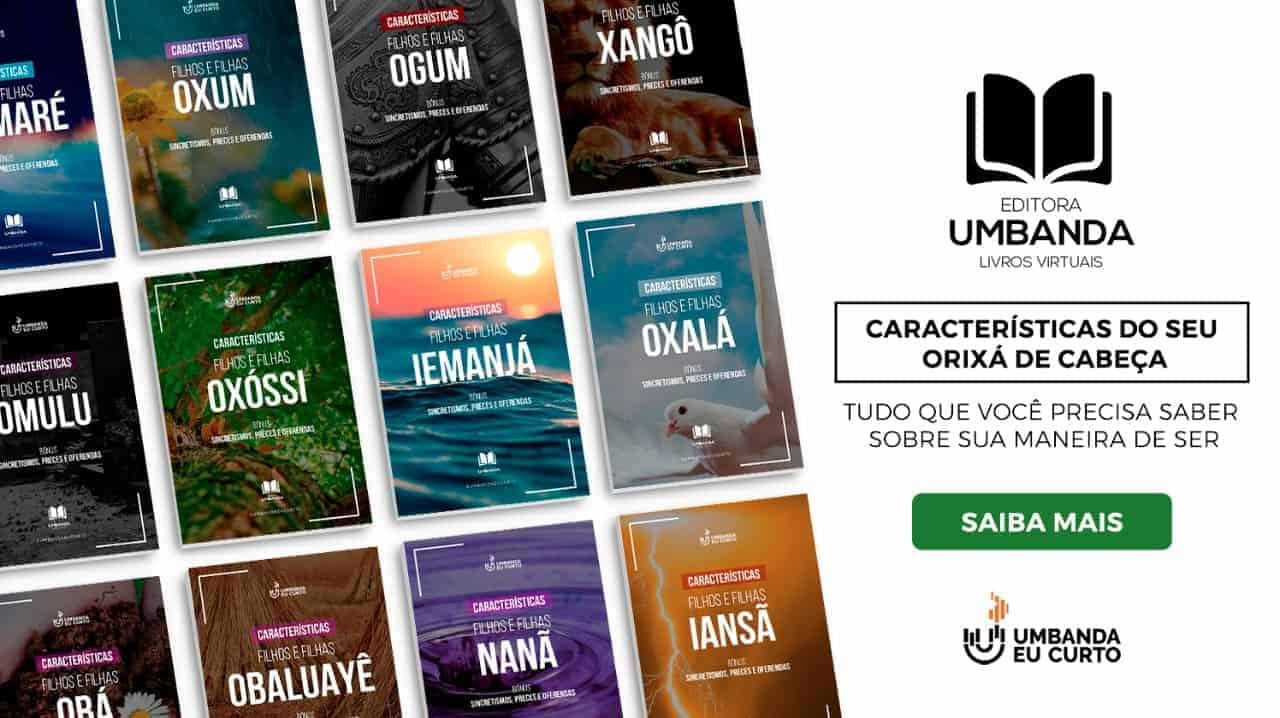 E-books Umbanda Eu Curto: conhecimento e ação social 3